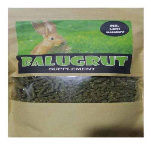 pienso para conejos mr luti bunny balugrut supplement 1kg