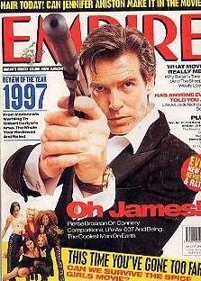 pierce brosnan / 007 / james bond: capa + matéria de 1998 !!