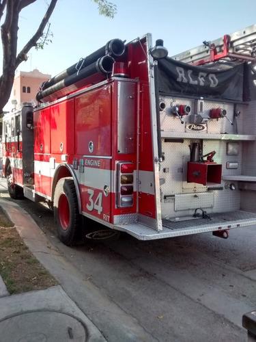pierce lance fire engine 1990