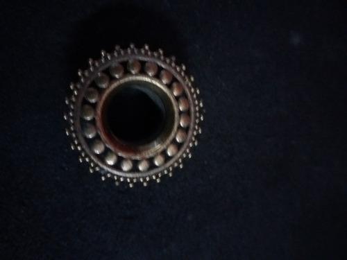 piercing expansores de bronce sunflower de 8 y de 14 mm