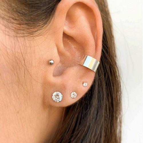 piercing fake prata 925