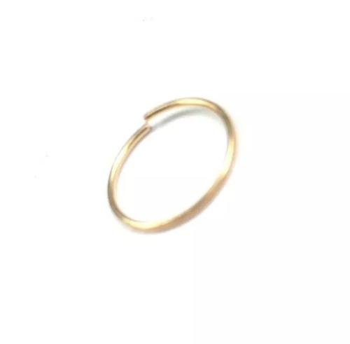 piercing feminino argola em ouro 18k 750