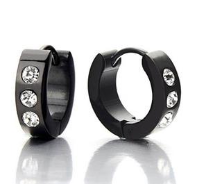 55cee2bde2f3 Aretes Negros Para Hombre Como Boton - Joyas y Relojes en Mercado Libre  México