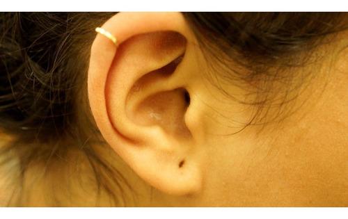 piercing orelha ouro 18k cartilagem argola pc0010