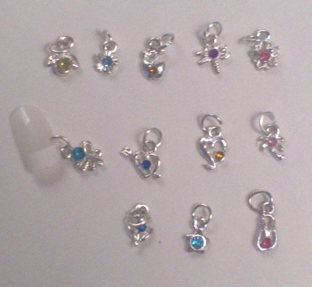 Piercing Para Arte En Uñas Esculpidas - Precio X 2 Unidades - $ 70 ...