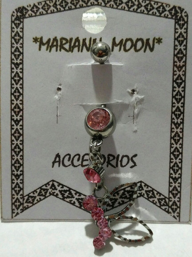 piercing p/ombligo strass ch y varios*mariann moon*