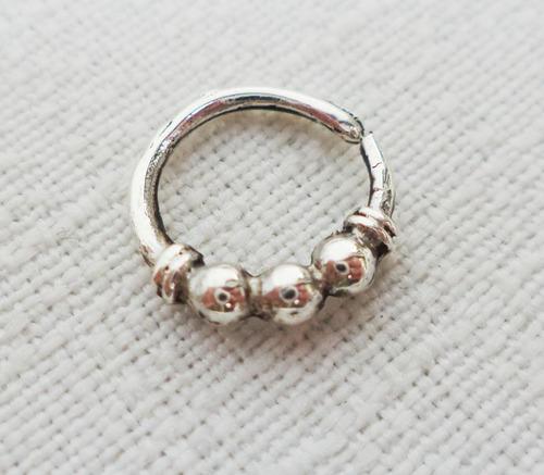 piercing septum plata modelo 6 precio oferta lanzamiento