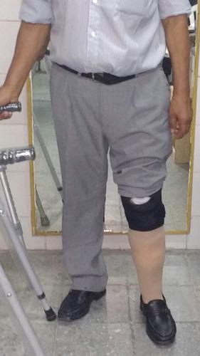 pierna ortopédica a medida