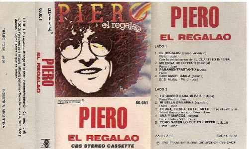 piero - el regalao - cassette -1985