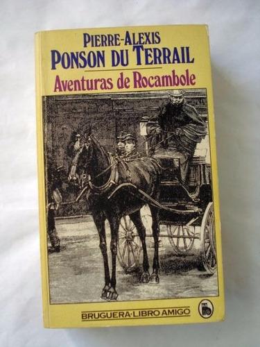 pierre alexis ponson du terrail aventuras de rocambole - c18