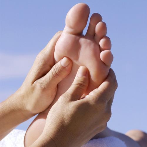 pies masaje masajeador
