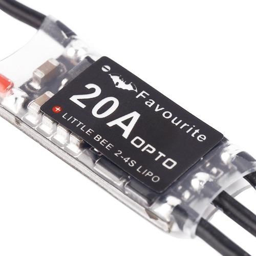 pieza motor velocidad little bee tvr mini 20a 2-4s control