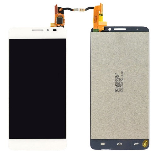 pieza para alcatel pantalla lcd tactil digitalizador blanco