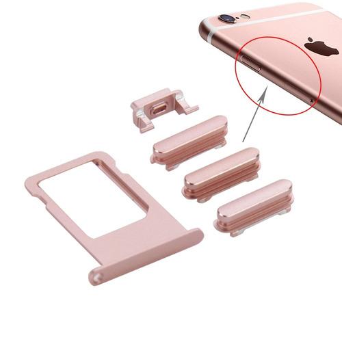 pieza para iphone 6s bandeja gris