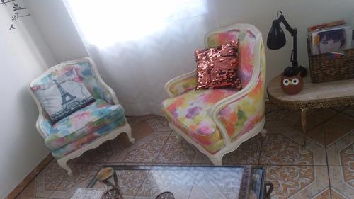 pieza única! mueble luis xv sillon mueble vintage