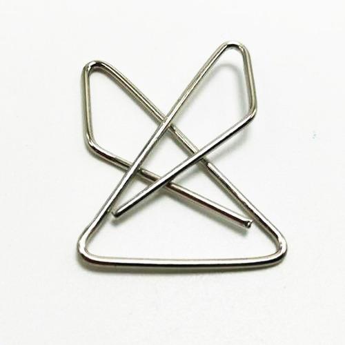 piezas clips de papel metal moda plata mariposa