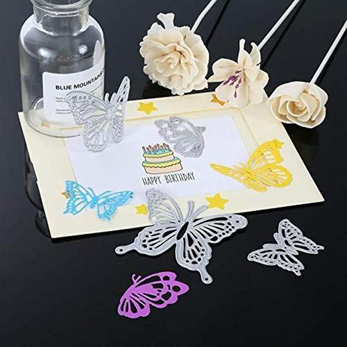 piezas conjunto de mariposa troqueles de corte maripos...