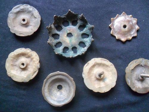 piezas de  bronce antiguo
