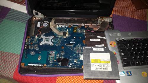 piezas de laptop toshiba l-455