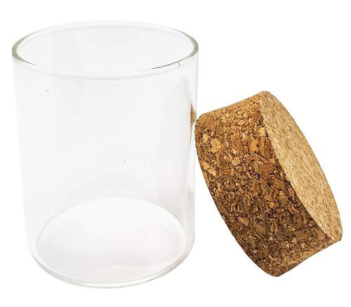 piezas - frascos de vidrio premium de  oz con tapa...