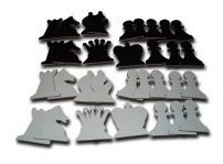 piezas murales madera ajedrez con imanes - ventajedrez