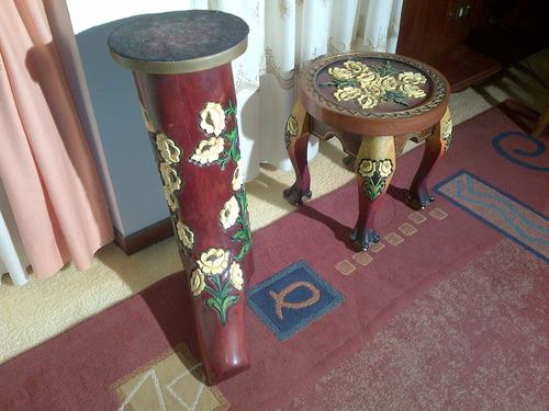 piezas única hecha a mano madera sólida decoración mesa bota