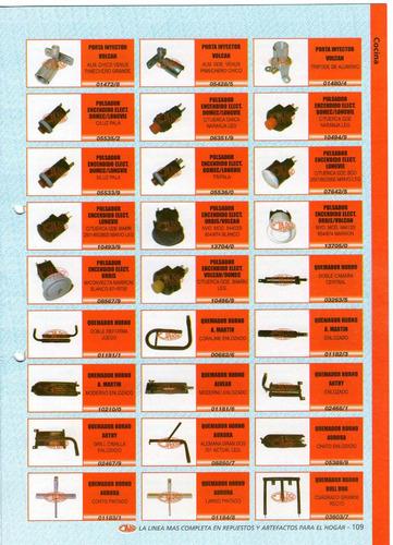 piezoelectrico ctz c/rosca leg. art.10350/4