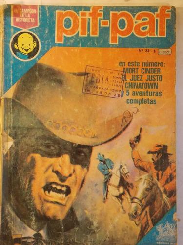pif-paf record 1977, nº 23, 100 pag historieta argentina