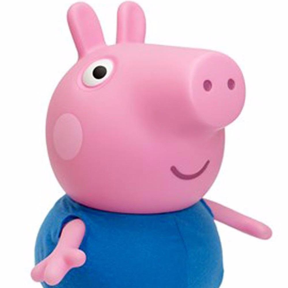 Boneca Peppa Pig de Empurrar - Líder