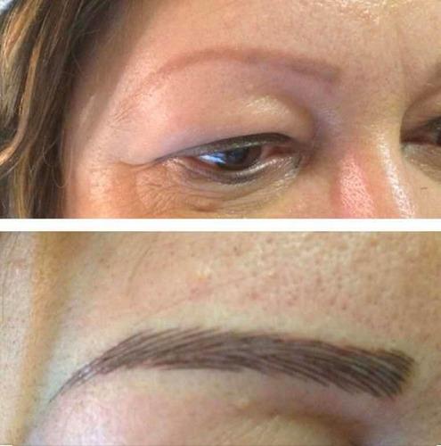 pigmentación. maquillaje permanente a domicilio