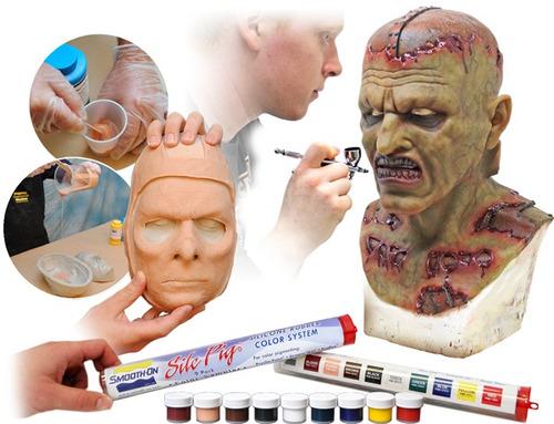 pigmento caucho silicona silc x1 color piel 6gr maquillaje