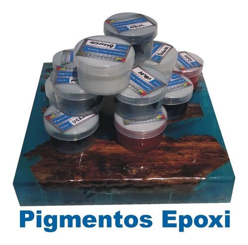 pigmento concentrado para resina cristal vidrio liquido