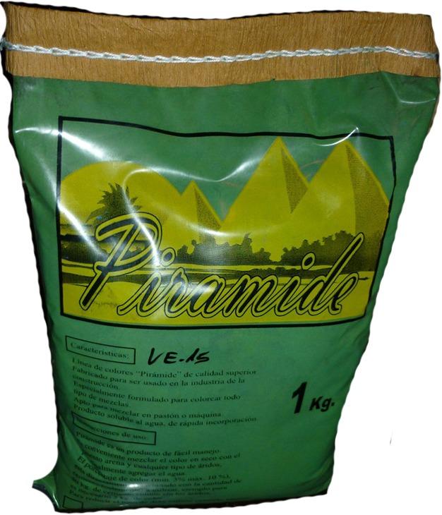 Pigmento Ferrite Oxido De Cromo Verde 1 Kg. - $ 730,00 en Mercado Libre