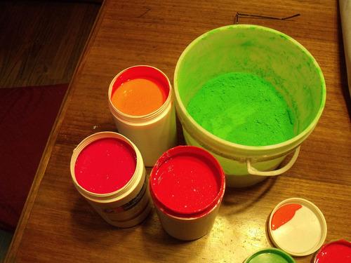 pigmento fluorescente textil