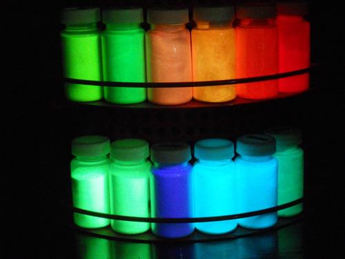 pigmento fotoluminscente brillan en la obscuridad  1 kg c/u