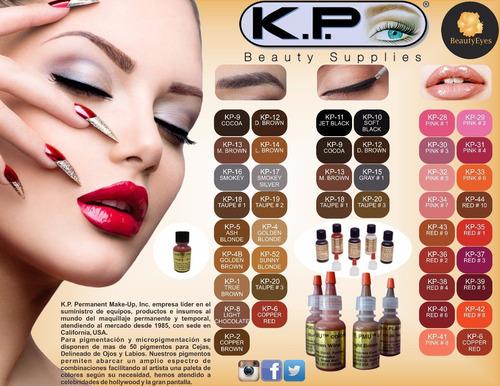 pigmento kp pmu microblading micropigmentacion originales