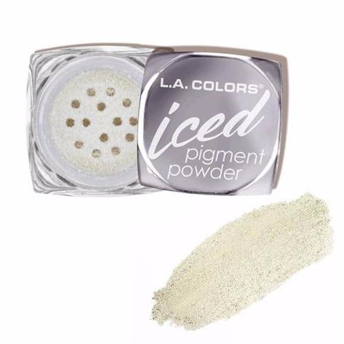 pigmento sombra gliter (glitter) de l.a. colors original