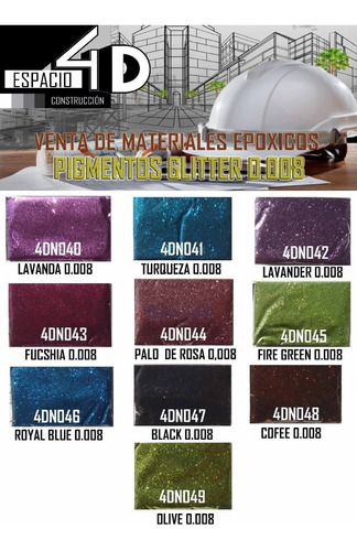 pigmentos para porcelanato liquido 3d/resina epoxica