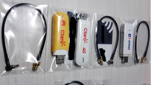 pigtail conector crc9/ts-9 para modem usb 3g,3.5g y 4g