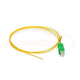 Pigtail Patchcord Fibra Óptica Sc/apc 0.9mm Simple 1.5m