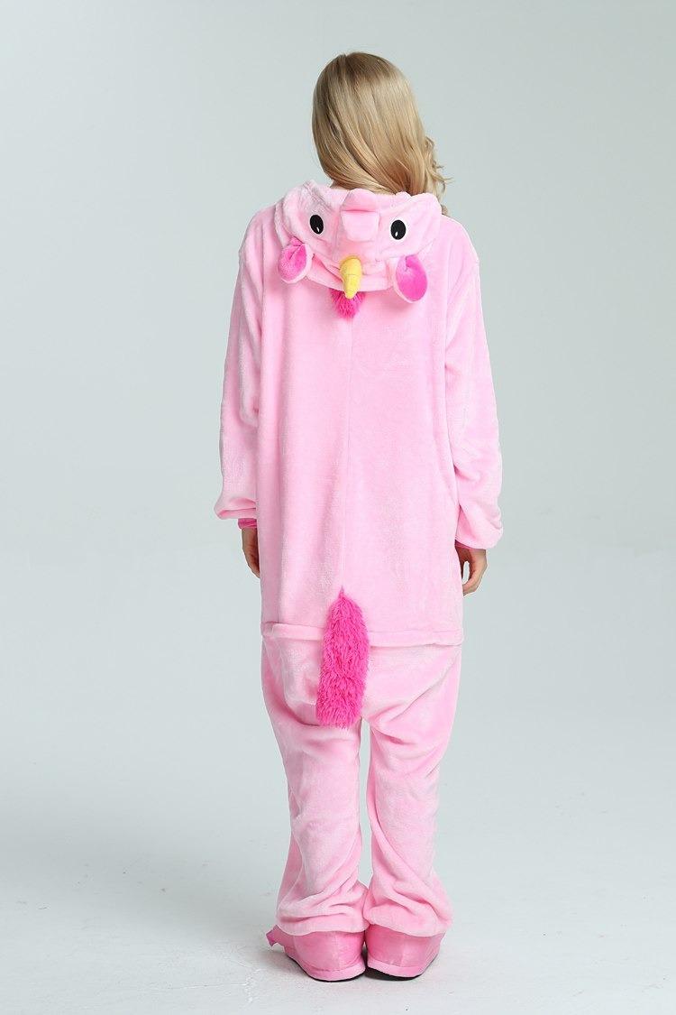 c06e799576 piijama mameluco kigurumi unicornio disfraz lila rosa adulto. Cargando zoom.