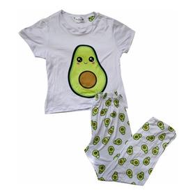 Pijama Aguacate Pantalon Mujer