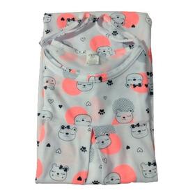 Pijama Bata Materna Apertura Lactancia