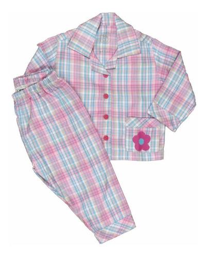 pijama bebê flanela modelo paletó inverno
