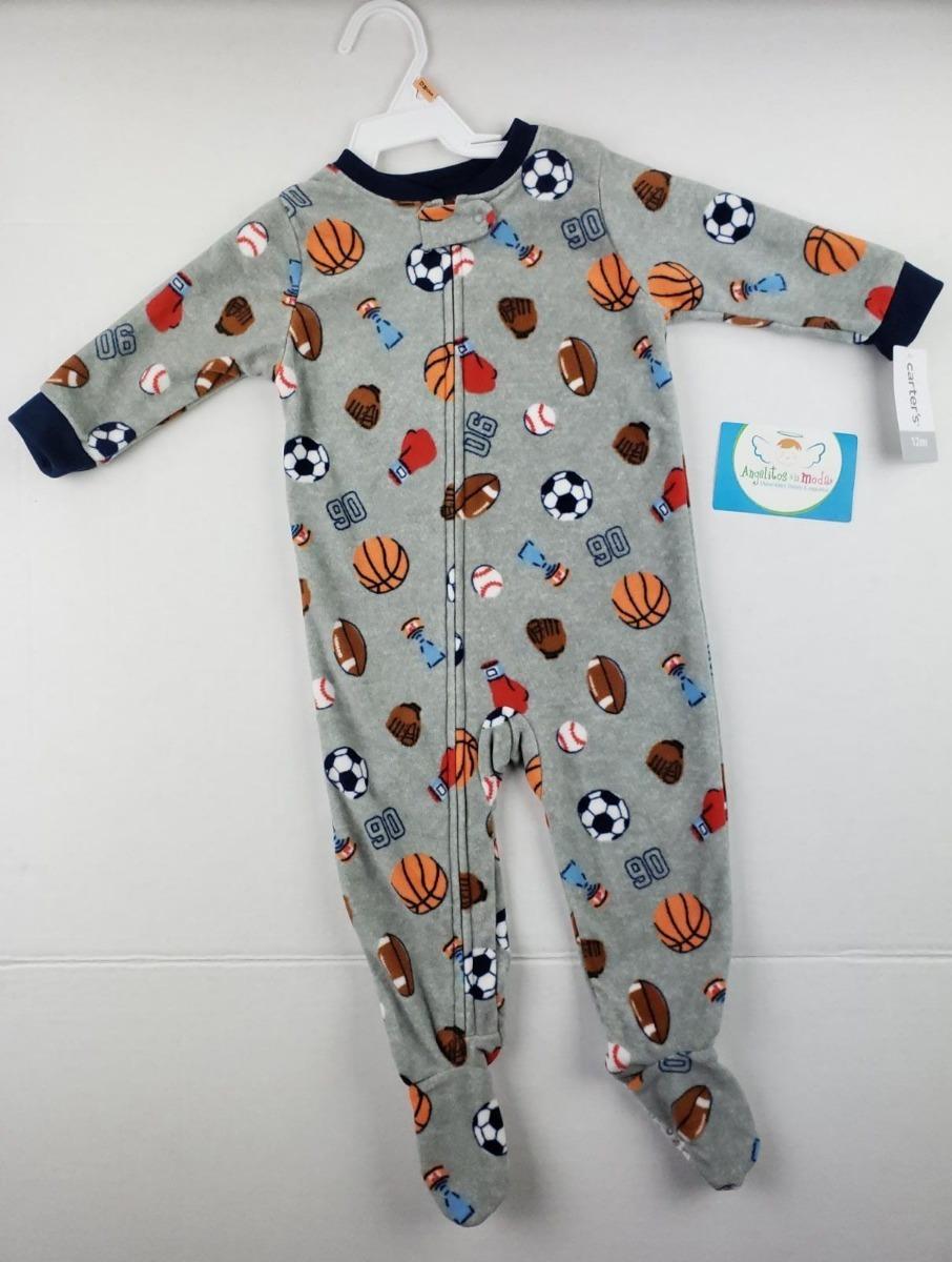 Pijama Bebe Niño Carters Gris Pelotas Envio Ya -   58.300 en Mercado ... 42275c5cd50f