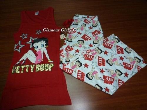 pijama betty boop para damas