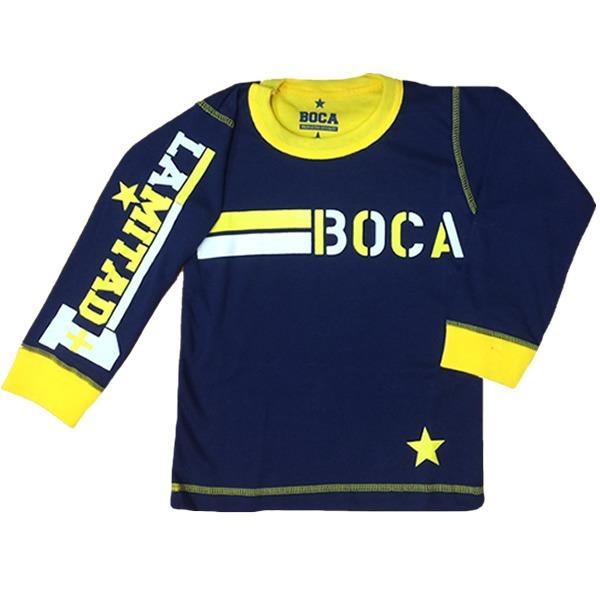 Pijama Boca Juniors Hombre Oficial Equipo Futbol Invierno -   795 2a6473c47dd