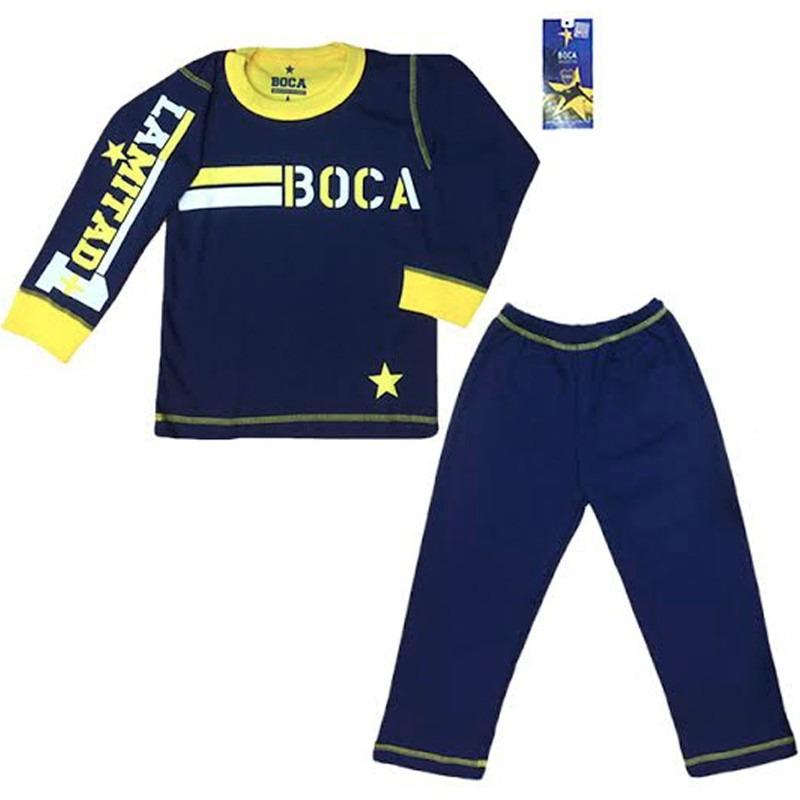 pijama boca juniors oficial equipo futbol niño invierno club. Cargando zoom. d48bcd2da70