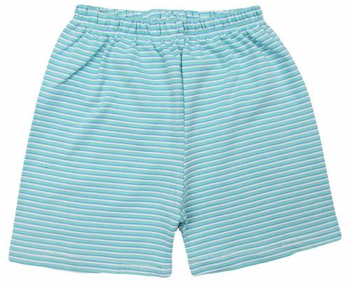 pijama body e shorts caramujo bebê algodão