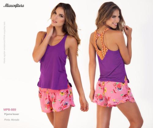 pijama boxer miaconfitura